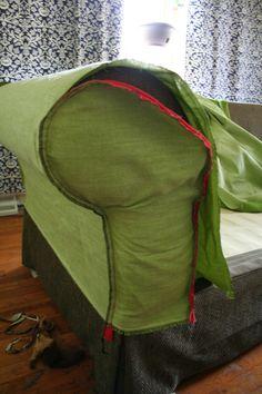 How to Sew a Slipcover, Part 3 – DIY Home Decor Tutorial