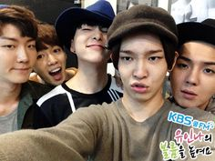 WINNER + Special DJ Kim Ji Min @ 140919 KBS Yoo In Na's Turn Up The Volume!