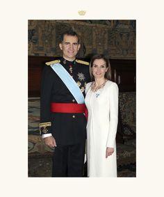 Nuevo retrato oficial de los reyes Felipe y Letizia - 2/10/2014