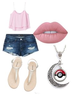 """Untitled #5"" by alevsumer on Polyvore featuring MANGO, 3x1 and Lime Crime"
