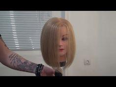 Мастер-класс для парикмахеров по стрижке каре боб Трэйси. Курсы парикмахеров Артема Любимова. - YouTube
