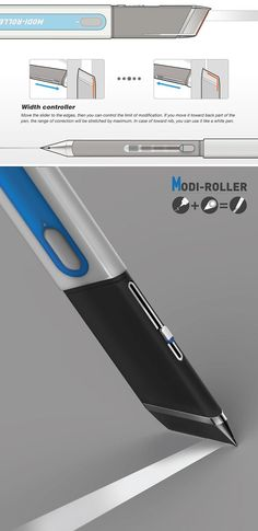 This cleverly designed white-out pen is a step above the rest with its variable width applicator. No matter your text or handwriting size, it will cover up your flubs with precision each time. Simply slide the sizing mechanism, cover-up, and pretend like it never happened!
