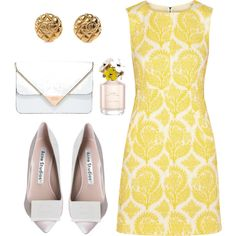 """yellah"" by kaywoodsx on Polyvore"