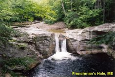 Frenchman's Hole, Maine. We did a day off here and can;t wait to take campers next year!