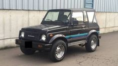 Suzuki Samurai 86-95 Soft Top Replacement Black Denim X 53701.15