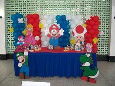 Decoraciones y Eventos MilSonrisas: Fiesta Infantil Mario Bross