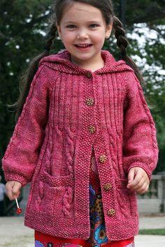 Lavanda knitting pattern by elena nodel knitting patterns loveknitting Love Knitting, Kids Knitting Patterns, Knitting For Kids, Knitting Designs, Toddler Cardigan, Baby Cardigan Knitting Pattern, Jacket Pattern, Girls Series, Layering Clothes