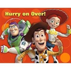 Hallmark Toy Story 3 Invitations - 8 ct $2.66 (save $1.34)