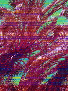 Glitch Art - Hotline Miami by imbackforgood