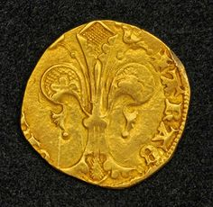 Spain 1416 Florin gold coin - stable currency in medieval Europe