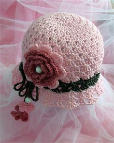 Crochet Hats Patterns crafts for summer: crochet hat patterns, kids craft ideas - crafts ideas… Crochet Summer Hats, Crochet Kids Hats, Crochet Girls, Crochet Crafts, Crochet Projects, Knitted Hats, Diy Crafts, Bonnet Crochet, Crochet Cap
