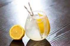 Homemade lemonade...