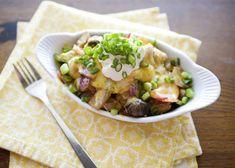 Potato bake - quick and easy dinner recipes Potato Side Dishes, Side Dishes Easy, Side Dish Recipes, Dinner Recipes, Dinner Ideas, Easy Baked Potato, Making Baked Potatoes, Loaded Potato, Quick Easy Dinner