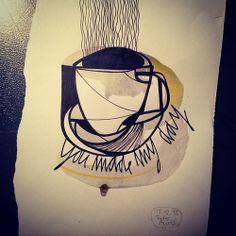 Sketch by Tattoo Artist Peter Aurisch