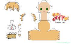 papercraft kaichou wa maid sama - Buscar con Google