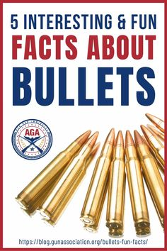 You use bullets all the time but have you heard some interesting stories about it? We have some fun facts about bullets here so read up! Military Special Forces, Guns And Ammo, Bullets, Rifles, Survival Tips, Lighter, Fun Facts, History, Survival Life Hacks