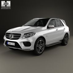 Mercedes Benz Gle Class Gle 3D Max - 3D Model