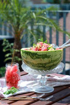 Watermelon-Chickpea-Salad