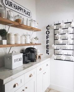 Vertical COFFEE Welded Metal Sign Vertical Metal Coffee Bar sign that mounts off the wall. Farmhouse Kitchen Decor, Home Kitchens, Diy Coffee Bar, Kitchen Remodel, Kitchen Design, Coffee Bar Home, Small Kitchen, Country Kitchen, Coffee Nook