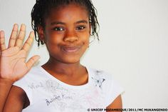 """""""I dream of becoming a renowned journalist"""" -- Raissa is 13 years old and is a regular child-to-child radio reporter, who hosts, along with other young people, a weekly children's programme called 'Voices of Youth' at Chibuto's community radio station. This is her story. -- http://www.unicef.org/mozambique/media_11359.html"""