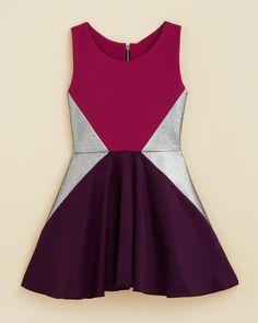 Zoe Girls' Triangle Swing Dress - Sizes 4-6X | Bloomingdale's