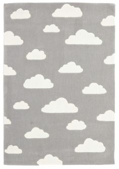 Dreamy Clouds Rug Grey - Childrens Rugs | Interiors Online - Furniture Online & Decorating Accessories