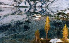 Pear Lake in Sequoia National Park, California