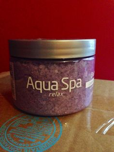 Aqua Spa Bath Soak #relaxwithaquaspa Just got this complementary from Influenster for the Go Vox Box and I have to say that I am excited for a nice soak.