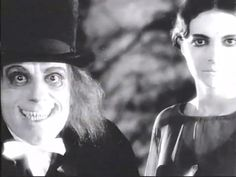 Screencap from the lost Tod Browning film 'London After Midnight,' starring Lon Chaney London After Midnight, Peter Lorre, Peter Cushing, Caspar David Friedrich, Lon Chaney, Orson Welles, Edgar Allan Poe, Silent Film, Browning