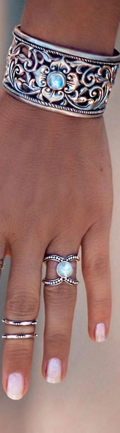 That ring moonstone is a very powerful crystal for women!