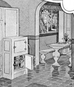 S Bungalowbreakfast Nook S Home Kitchen Pinterest - Craftsman bungalow kitchen breakfast nooks