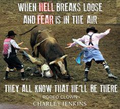 Rodeo Clown by Charley Jenkins, www.charleyjenkins.com