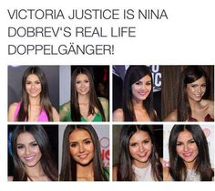 When my sister watched tvd I thought Victoria Justice was Elena Serie The Vampire Diaries, Vampire Diaries Damon, Vampire Diaries Quotes, Vampire Diaries The Originals, Vampire Quotes, Nina Dobrev, Stefan Salvatore, Victoria Justice, Paul Wesley
