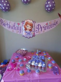 Sophia The First birthday party