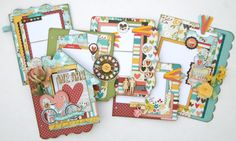 New January 2016 kit from Paisleys and Polka Dots featuring the We Are Family collection from Simple Stories.