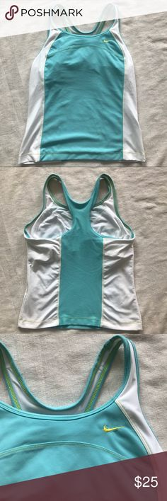 "Nike Performance Size 12-14 Athletic Tank Sports Nike Performance Size Large 12-14 Built in Bra Laid flat 13"" Bust, 22.5"" Length Material content in photos Excellent Condition with no noted flaws  Shop my closet for Women's and Children's Fashion.   Shop @mensstylehouse for top brand men's fashion. Nike Tops Tank Tops"