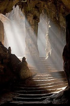 Khao Luang Cave Temple Entrance  Phetchaburi, Thailand