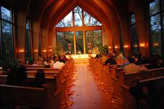 Rose Petals Down Our Aisle Is Always A Nice Touch We Allow Real Or Fake Indoors Norman Oklahoma Wedding Thunderbird Chapel