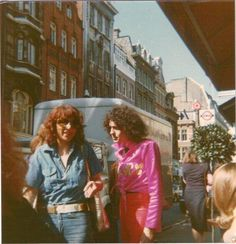 Marc Bolan fan photo - Sept 13, 1977 (3 days before he died).