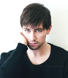 Torrance Coombs via We Heart It ~Tall, Dark and Handsome (and no bear belly)