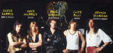 The band in early Albums Iron Maiden, Hard Rock, Heavy Metal, Iron Maiden Band, Dave Murray, Punk, Documentaries, Grunge, Music