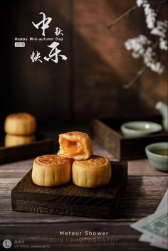 Product Photography, Food Photography, Chinese Cake, Mooncake, Mochi, Photoshoot, Cooking, Breakfast, Recipes