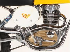 CCM (Clews Competition Machines) was founded in 1971 out of the collapse of BSA's competition department Old School Motorcycles, British Motorcycles, Vintage Motorcycles, Cars And Motorcycles, Motocross Action, Motocross Bikes, Vintage Motocross, Motorcycle Store, Motorcycle Engine