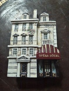 Dominique Gault Opera Hotel Miniature Bldg.99 #DominiqueGault