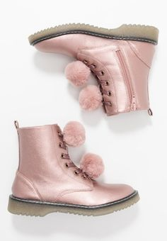 Schnürstiefelette - rose Ugg Boots, Uggs, Slippers, Ankle, Shoes, Fashion, Tall Boots, Welly Boots, Moda