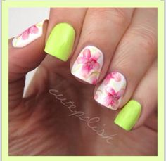 Wow! Loving again the neon and flowery patterns out there!!