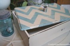 Thrift Store Box Gets a Makeover