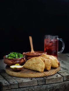 Rústica: Quesadillas with homemade corn tortillas, fried like a hot pocket. YUM YUM YUM