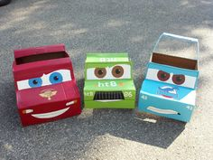 Disney Pixar cardboard Cars