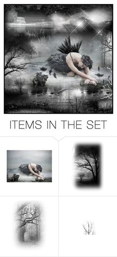 """""""~ Coming out of the dark ~"""" by lynne2 ❤ liked on Polyvore featuring art, contest, sad and lynne2"""